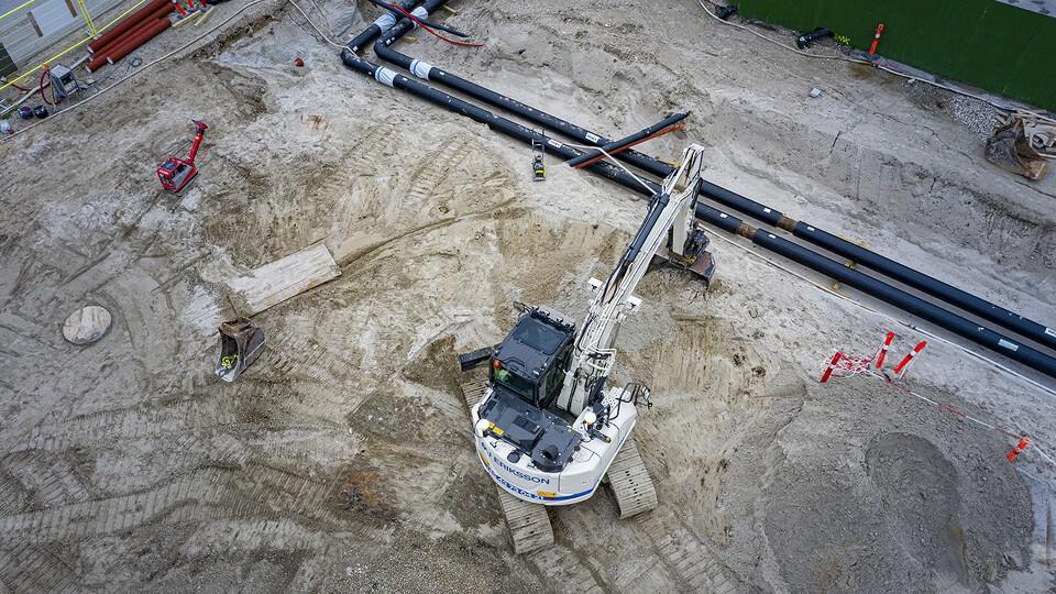 5. Projektet kræver mange ledningsomlægninger og flere tilslutninger